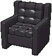 Boomin' Black Lounge Chair