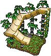 Bamboo Chute Slide