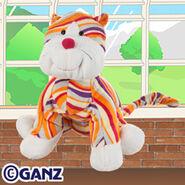 Striped Cheeky Cat Plush Pet