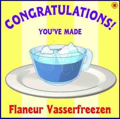 Flaneur Vasserfreezen