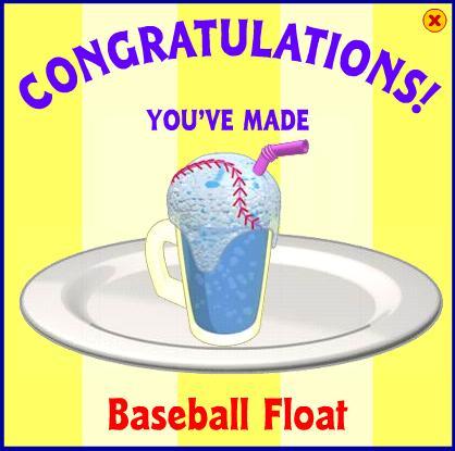 Baseball Float
