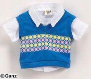 Plush Clothing Smart Sweater Vest