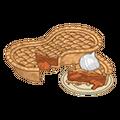 Sweet peanut pie