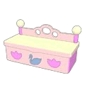 Ballerina Toy Box