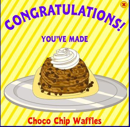 Choco Chip Waffles