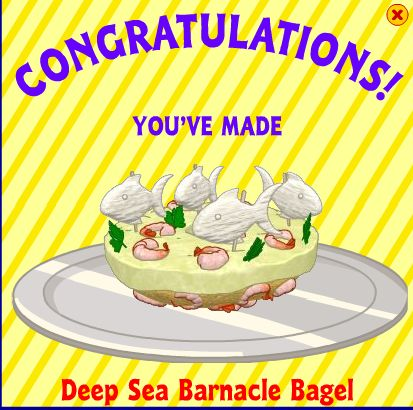 Deep Sea Barnacle Bagel