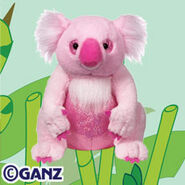 Cuddly koala plush