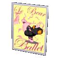 Ballerina Poster - Bear