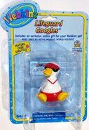 Lifeguard googles figurine