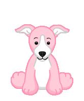 Pink Greyhound