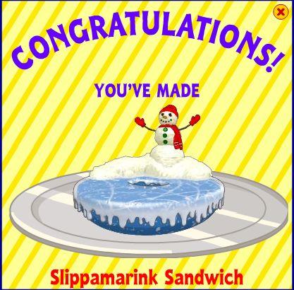 Slippamarink Sandwich