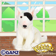 Signature Bull Terrier Plush Pet