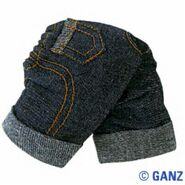 Plush Clothing Cuffed Jeans