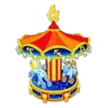 Fire Sign Carousel