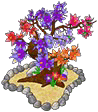 Blossoming Flower Tree