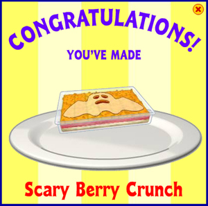 Scary Berry Crunch