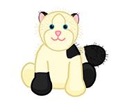 Domino Cat