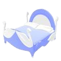 Delicate Swan Bed