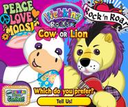 Rockerz Lion vs Rockerz cow promo