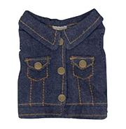 Plush Clothing Jean Jacket