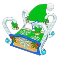 Wintergreen Candy Cane Bed
