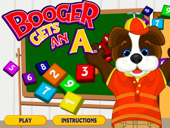 Booger Gets an A