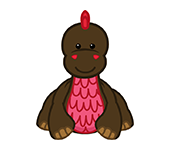 Cocoa Dinosaur