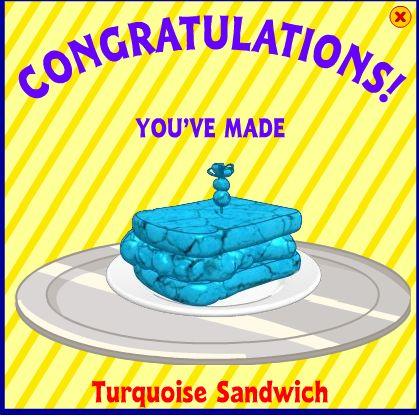 Turquoise Sandwich