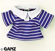 Plush Clothing Blue & Pink Striped Polo
