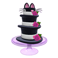 Triple Top Hat Cake