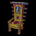 Beaded Throne