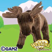 Signature Moose Plush Pet