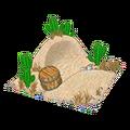 Sand dune den