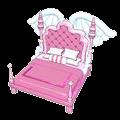 Pink Flutter Bed