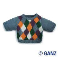 Plush Clothing Argyle Sweater