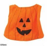 Plush Clothing Pumpkin Costume