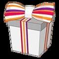 Striped Cheeky Cat Gift Box