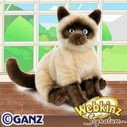 Signature Siamese Cat Plush Pet