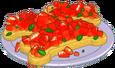 Biscuit Bruschetta