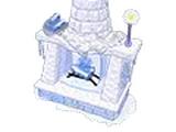 Frosty Fireplace
