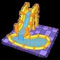 Golden Glide Water Slide