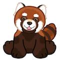 Signature Endangered Red Panda