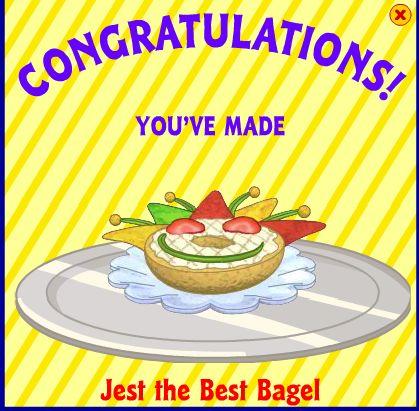 Jest the Best Bagel