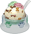 Kibble-Chip Ice Cream