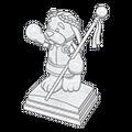 Ancient Emperor Statue