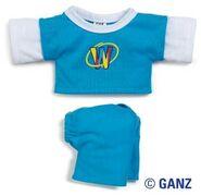 Plush Clothing Webkinz Layered Tee & Capris