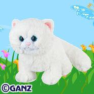 Snow Soft Kitty Plush Pet
