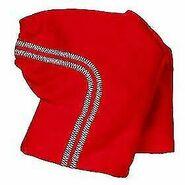 Plush Clothing Red Sport Pant
