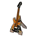 Toy electric guitar