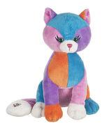 Colorblock-kitty-plush